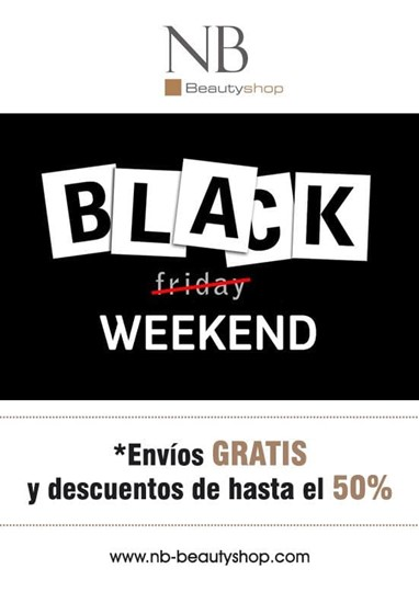 3,2,1...¡BLACK WEEKEND!ENVÍOS GRATIS