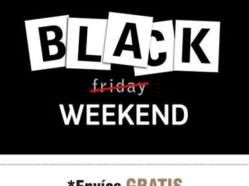3,2,1... BLACK WEEKEND